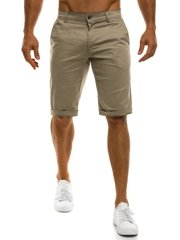 BLACK ROCK 9005 Short Homme Beige