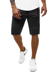 OZONEE MAD/2432 Short Homme Noir