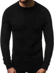 Pullover Homme Noir OZONEE MAD/4370