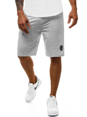 Short Homme Gris OZONEE MAD/2923