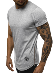 T-Shirt Homme Gris OZONEE O/1255