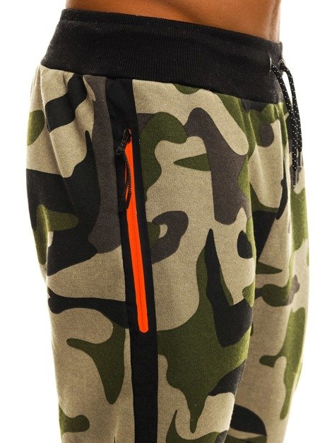 ATHLETIC 0801A Pantalon de survêtement jogger Homme Camo /01
