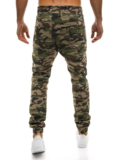 ATHLETIC 0803 Pantalon Jogger Homme Camo