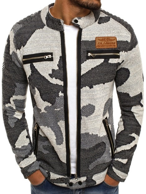 ATHLETIC 895 Sweatshirt Homme Gris