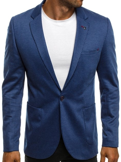 BLACK ROCK 021 Veste de costume Homme Bleu