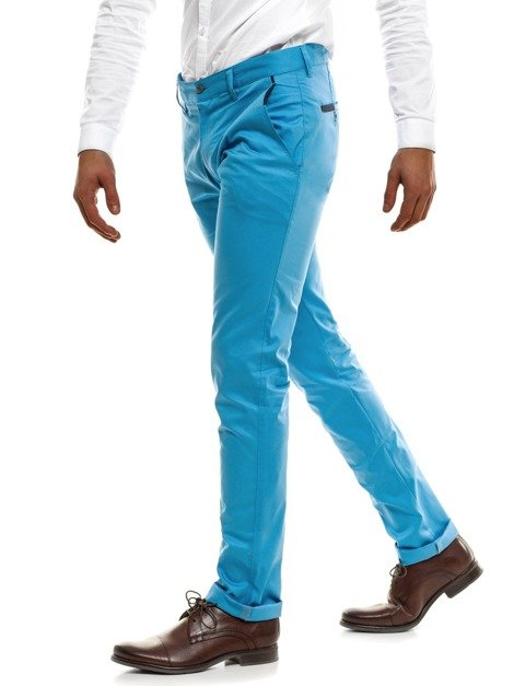 BLACK ROCK 208 Pantalon Chino Homme Bleu