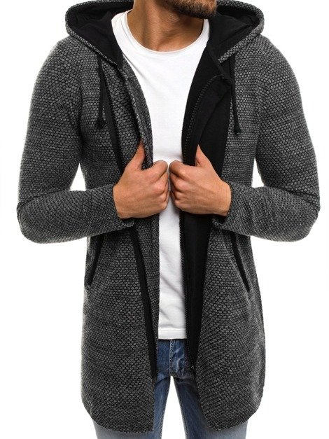 BREEZY 171550 Pullover Homme Gris