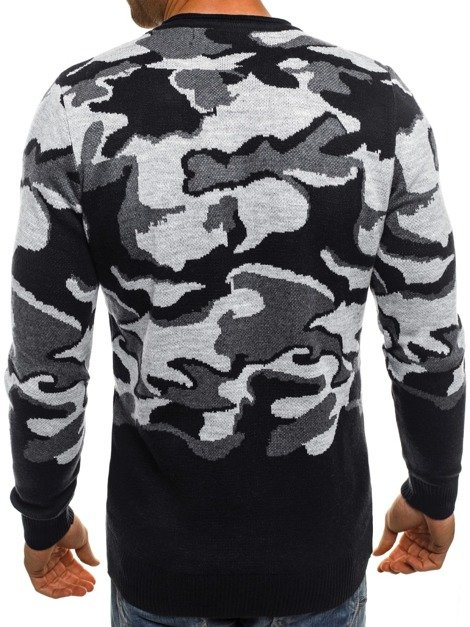 BREEZY 9030 Pullover Homme Gris