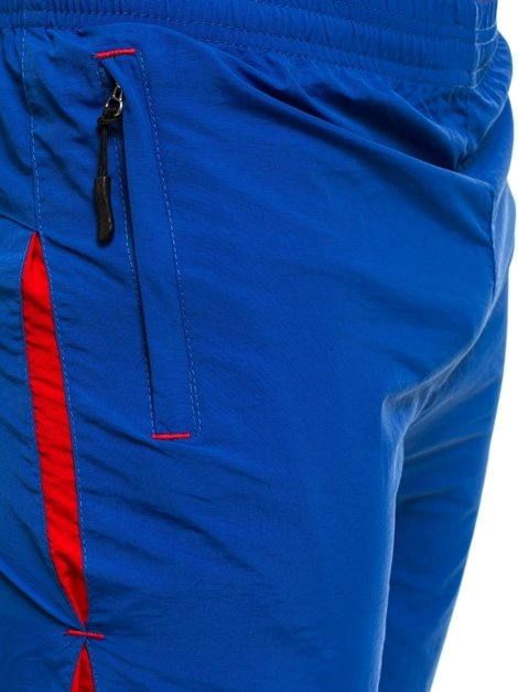 HOT RED WK20 Short Homme Bleu