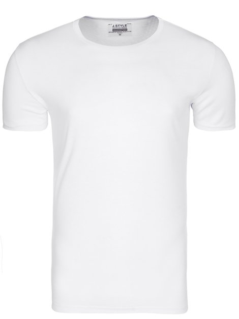 J.STYLE 672006 T-Shirt Homme Blanc
