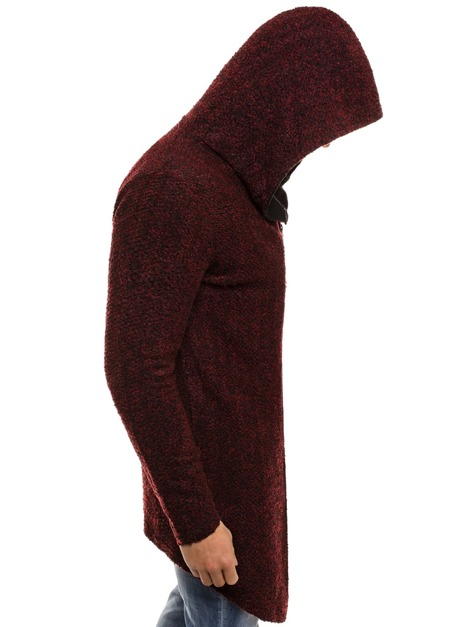 NORTHIST 538NS Pullover Homme Bordeaux