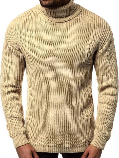 Pullover Homme Beige OZONEE MAD/4368