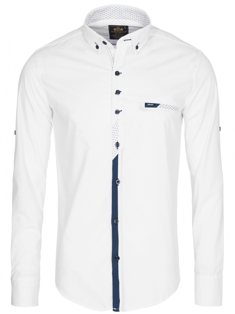 RAW LUCCI 715 Chemise Homme Blanc