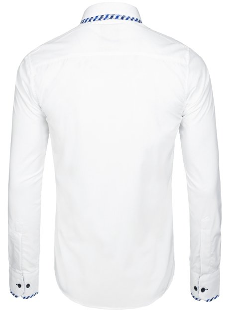 RAW LUCCI 776 Chemise Homme Blanc