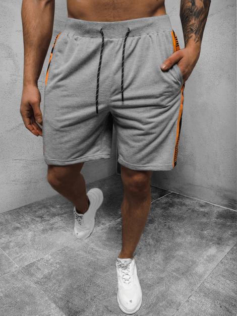 KURZHOSE sport pantalons shorts jogging Bermuda Court Fitness unicolore Messieurs OZONEE