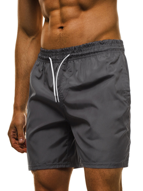 Short Homme Gris OZONEE MHM/386