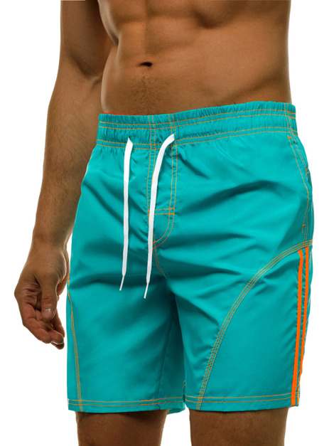 Short Homme Turquoise OZONEE MHM/362