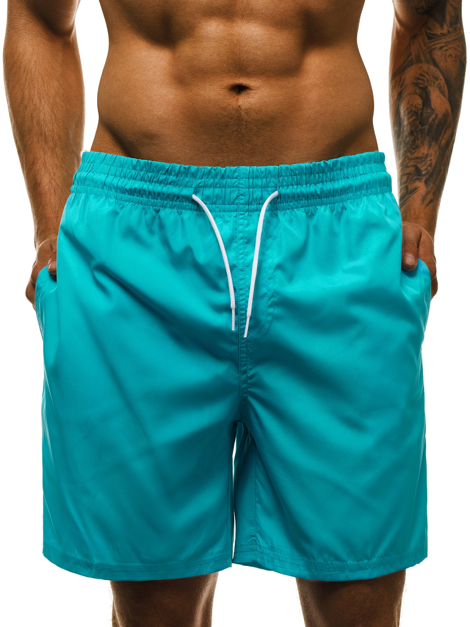 Short Homme Turquoise OZONEE MHM/386