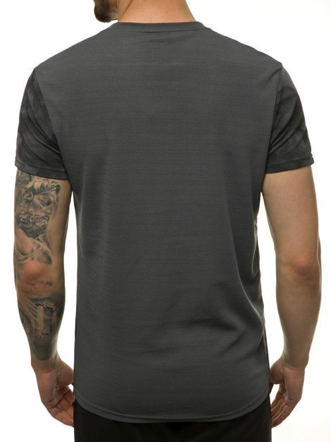 T-Shirt Homme Graphite OZONEE JS/SS10999