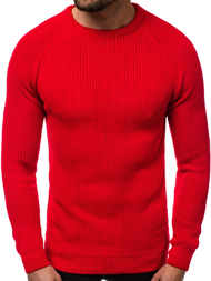 Pullover Homme Rouge OZONEE MAD/4370