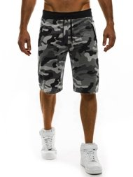 RED FIREBALL 1286 Short Homme Gris